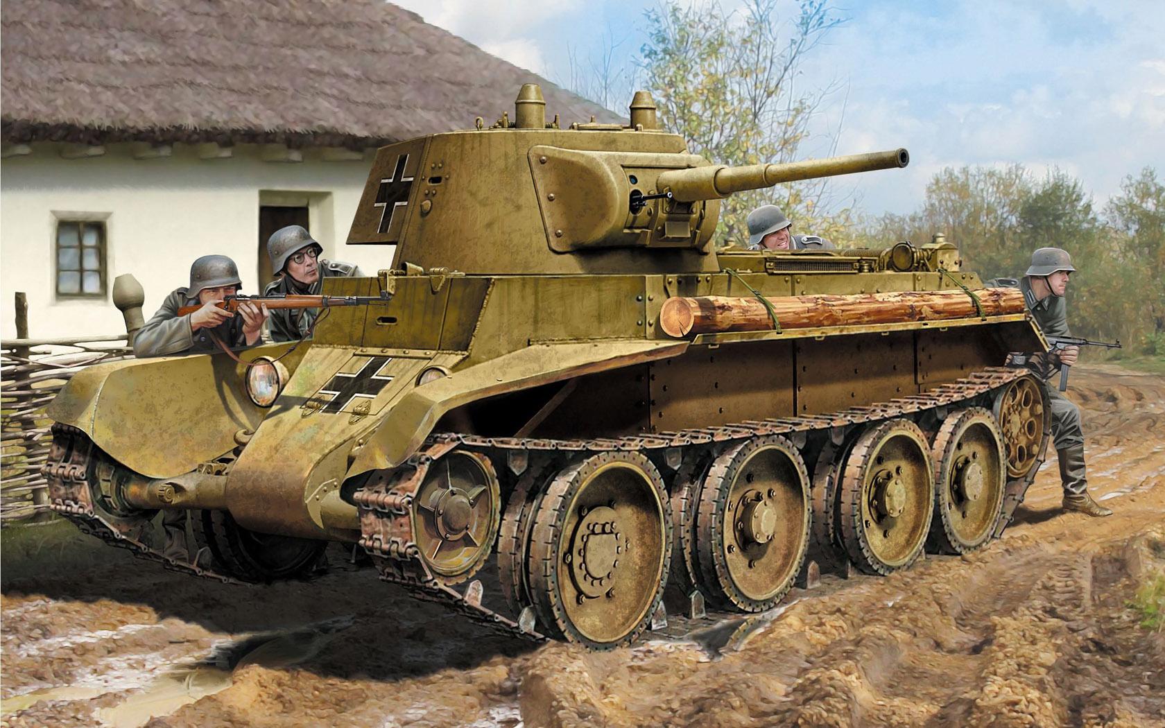 Петелин Валерий. Танк БТ-7М.