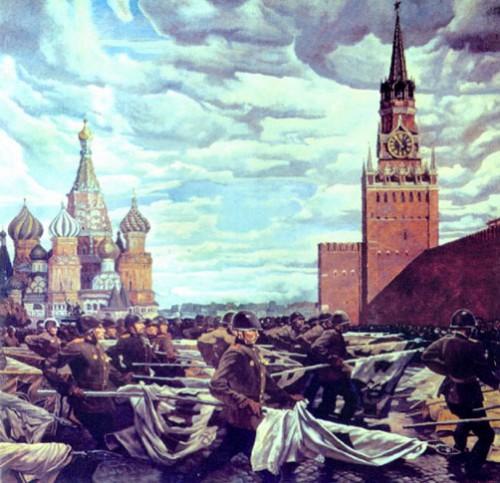 Самсонов Марат. Парад Победы на Красной площади.