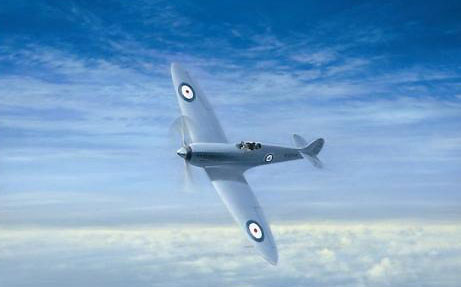 Coulson Gerald. Истребитель Spitfire.