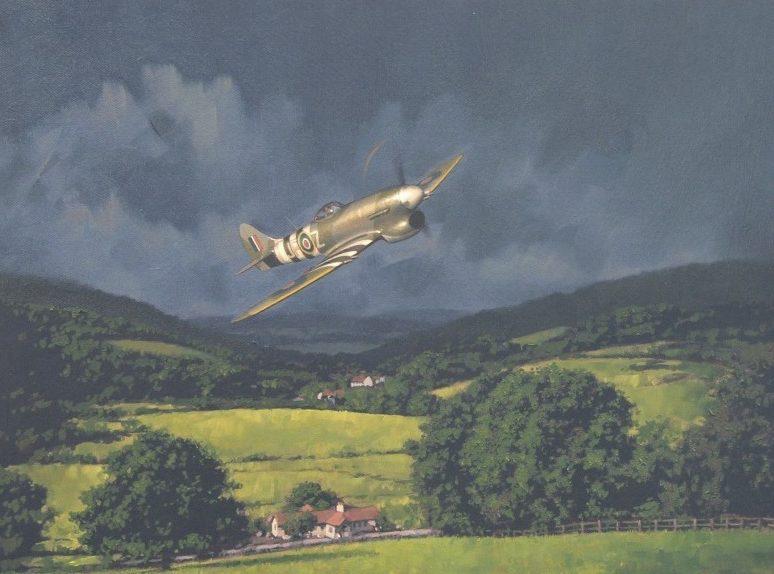 Murray Roger. Истребитель Hawker Tempest.