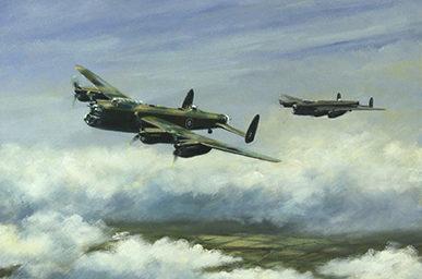 Ward Brian. Бомбардировщик Avro Lancaster.