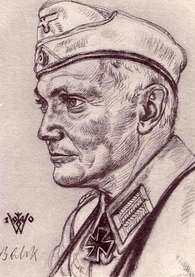 Willrich Wolfgang. Генерал – лейтенант Balck.