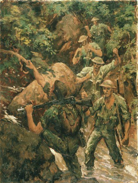 Browning George. Разведка пехотной бригады.