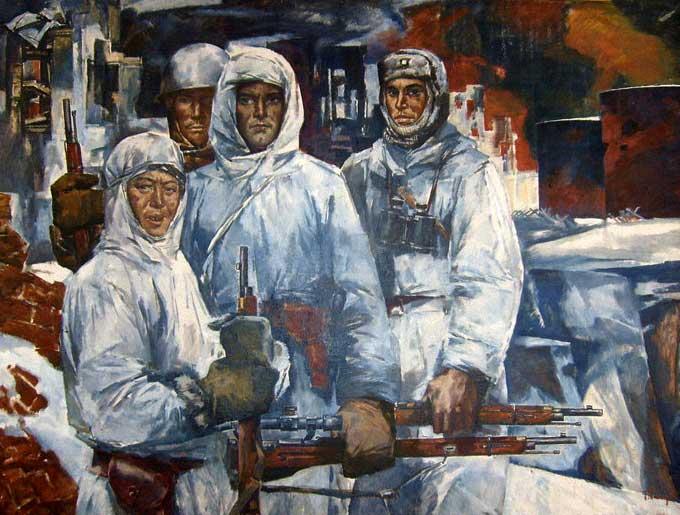 Малуев Борис. Защитники Сталинграда.