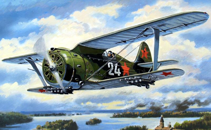 Руденко Валерий. Истребитель И-153.