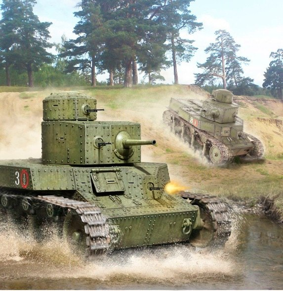 Петелин Валерий. Танк Т-24.