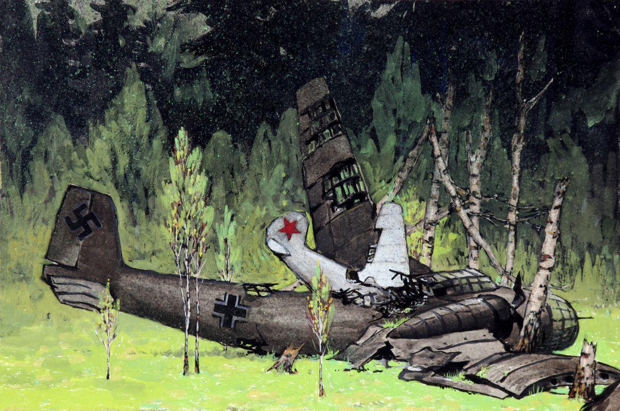 Зыков Геннадий. Таран.