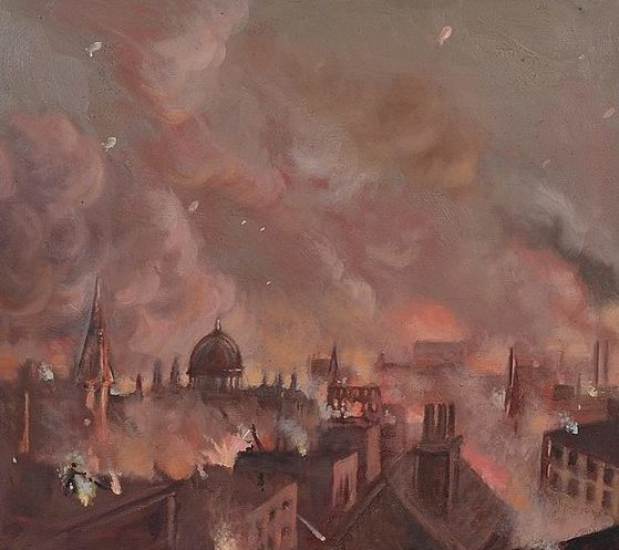 Haybrook Rudolf. Пожар в Лондоне.