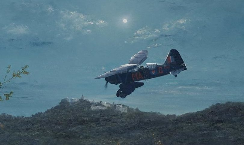 Smith Robin. Самолет поля боя Westland Lysander.