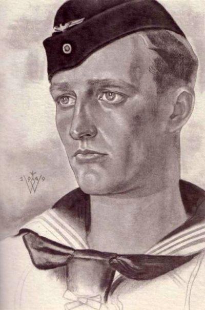 Willrich Wolfgang. Матрос с крейсера «Blücher».