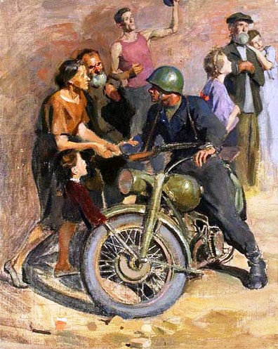 Волков Валентин. Минск, 1944 год.