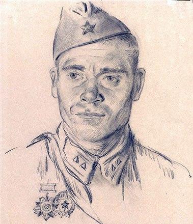 Голованов Леонид. Гвардии старший сержант С.Ш.Шариков.