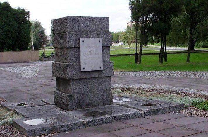 Памятник солдатам-освободителям.