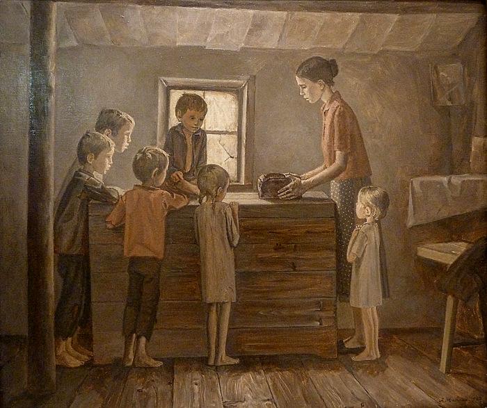Жабский Алексей. Дети войны.