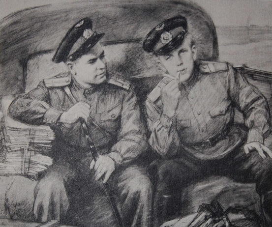 Жуков Николай. Офицеры.