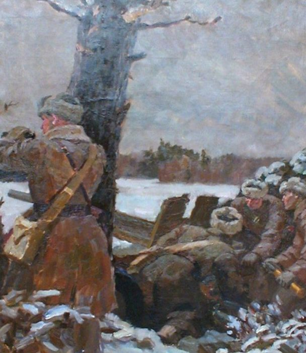 Одинцов Владимир. На огневой позиции.