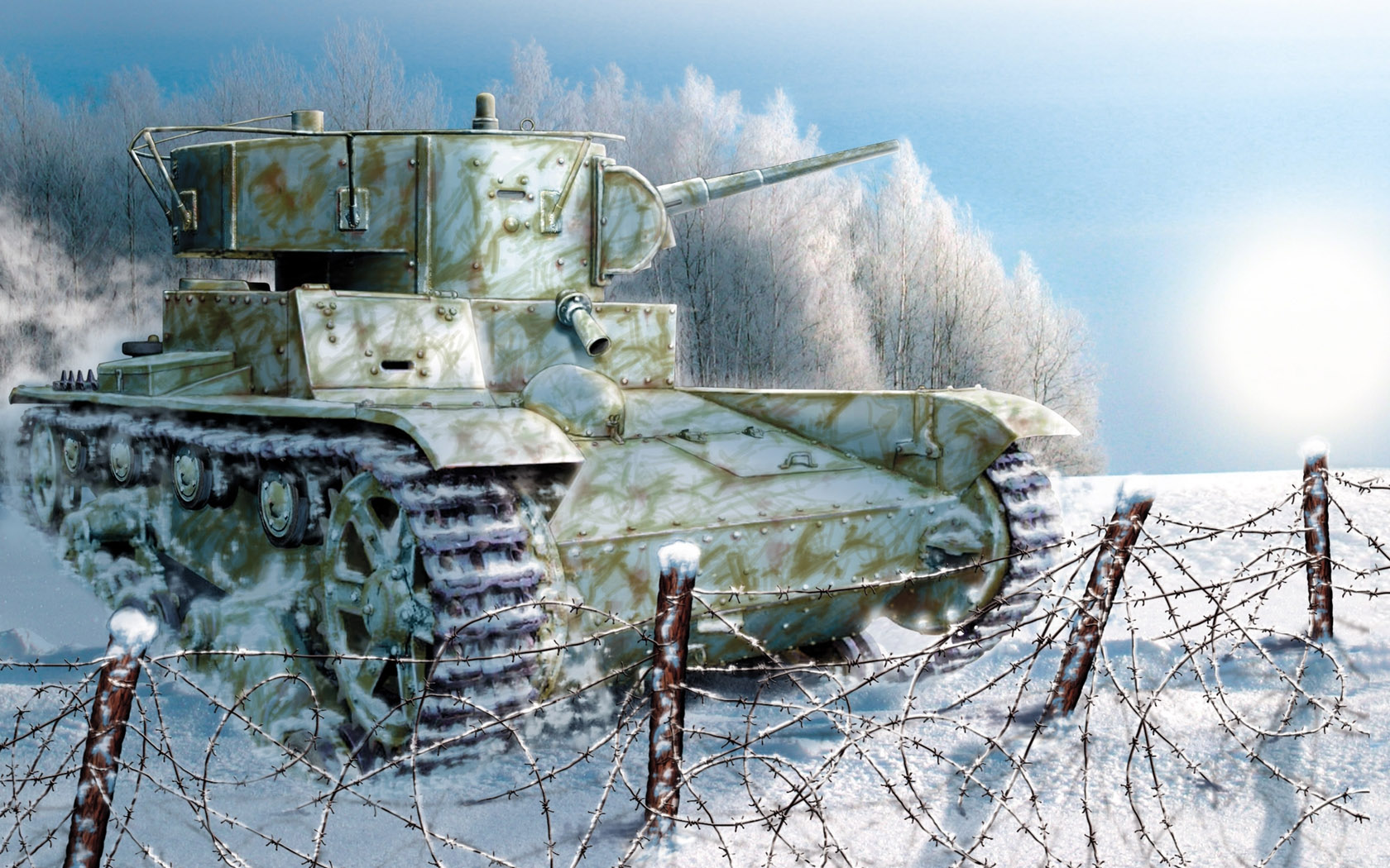 Петелин Валерий. Танк Т-26.