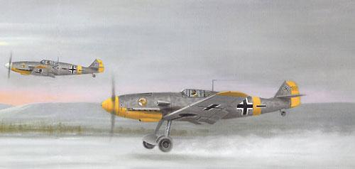Coulson Gerald. Истребитель Ме-109F.