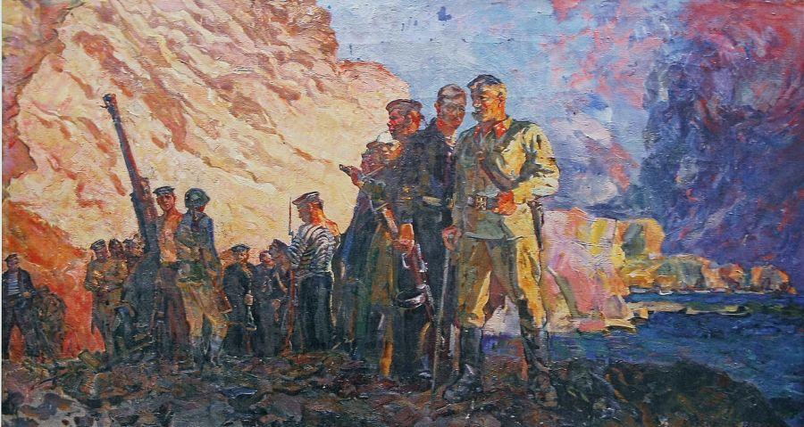 Коваленко Виктор. Мы вернемся. Севастополь 1 июля 42 г.