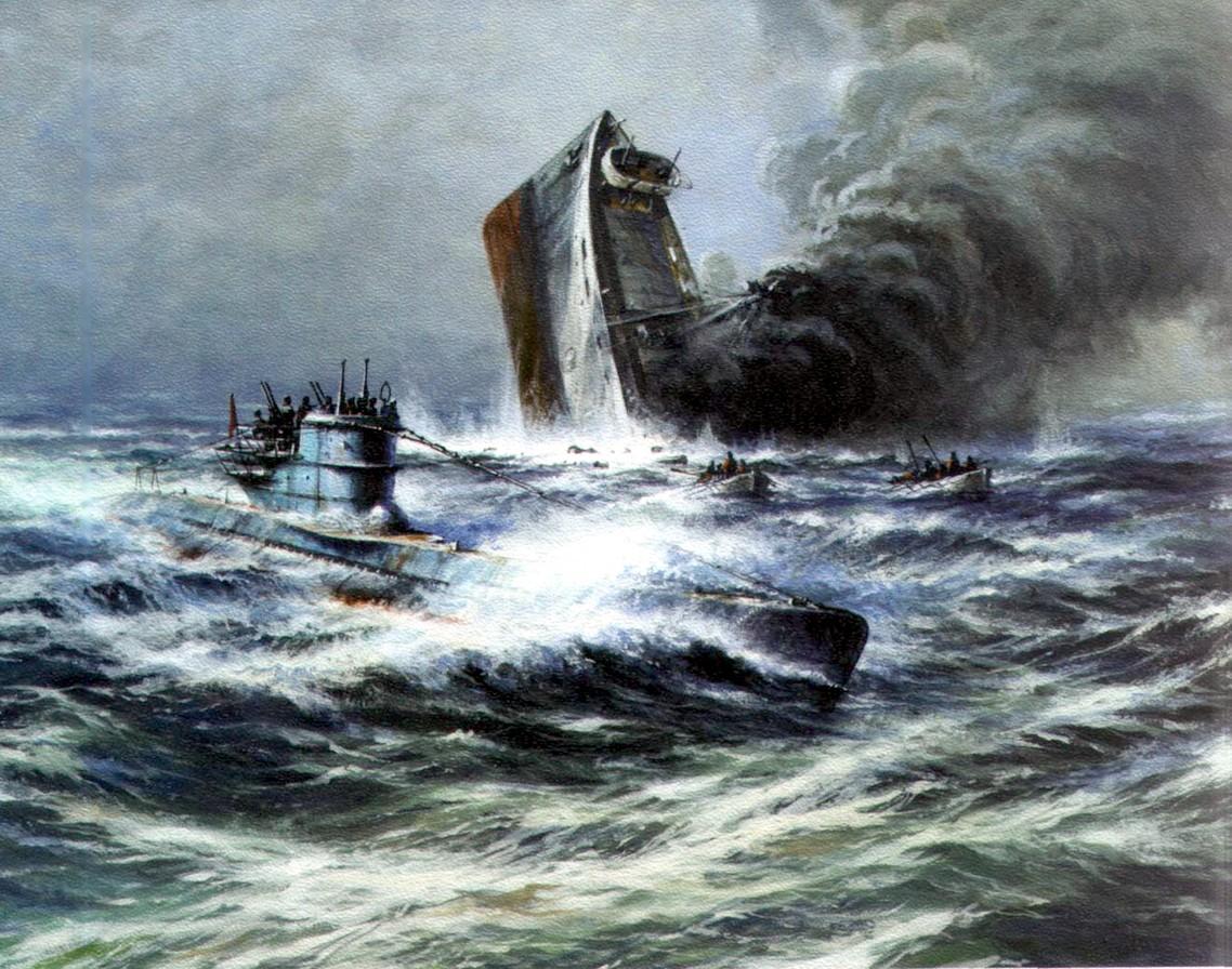 Заикин Александр. Торпедная атака подлодки.
