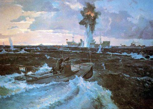 Нисский Георгий. Атака торпедных катеров.