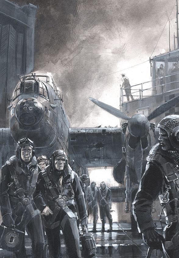 Burns Keith. Экипаж бомбардировщика.