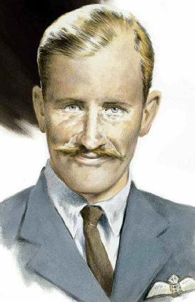 Nutkins Geoff. Командир эскадрильи Gerald Stapleton.