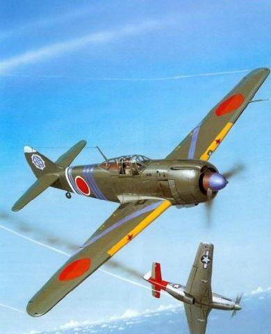 Wyllie Iain. Истребитель Kawasaki Ki-100-Ib.