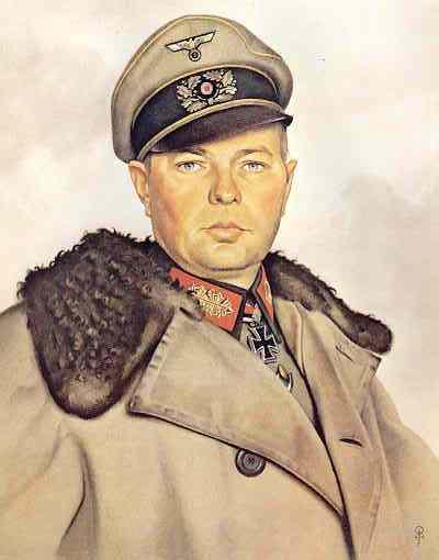 Willrich Wolfgang. Генерал-майор Helmut von Pannwitz.