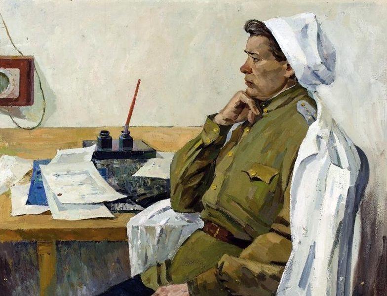 Левичев Юрий. Военврач.