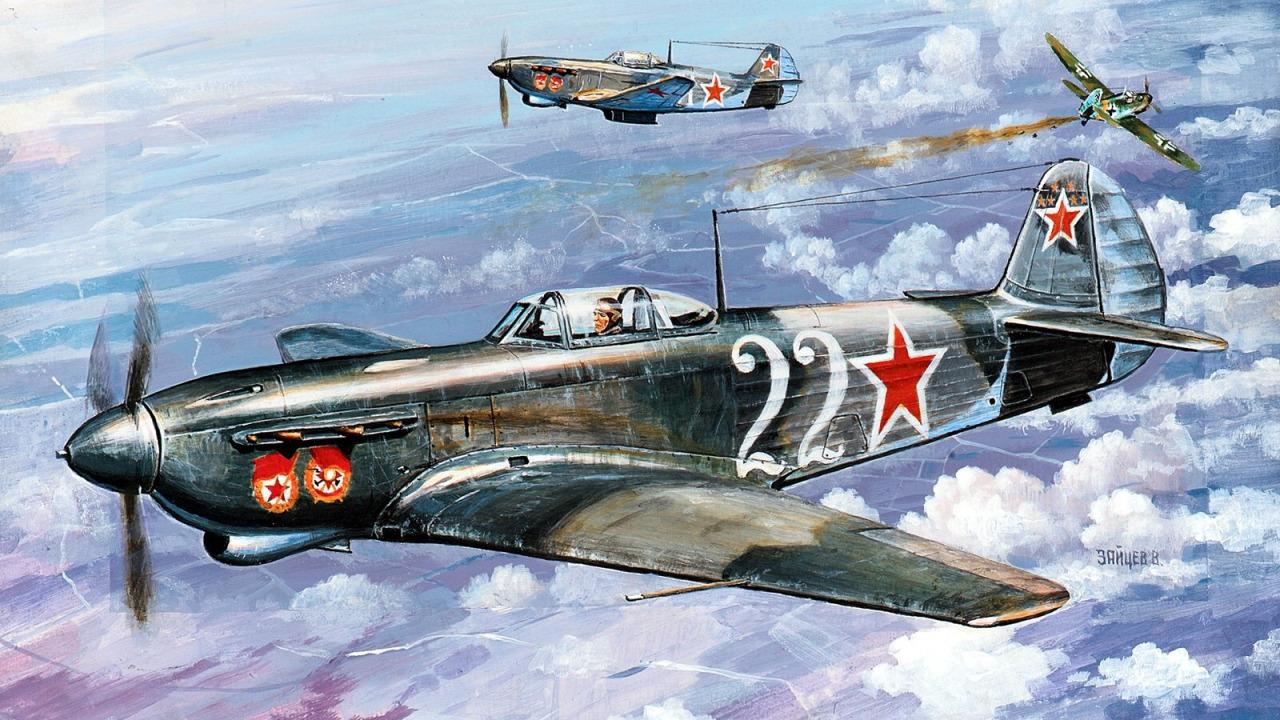 Зайцев Виктор. Истребитель Як-3.