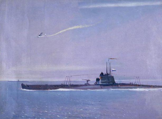 Нисский Георгий. Подводная лодка.