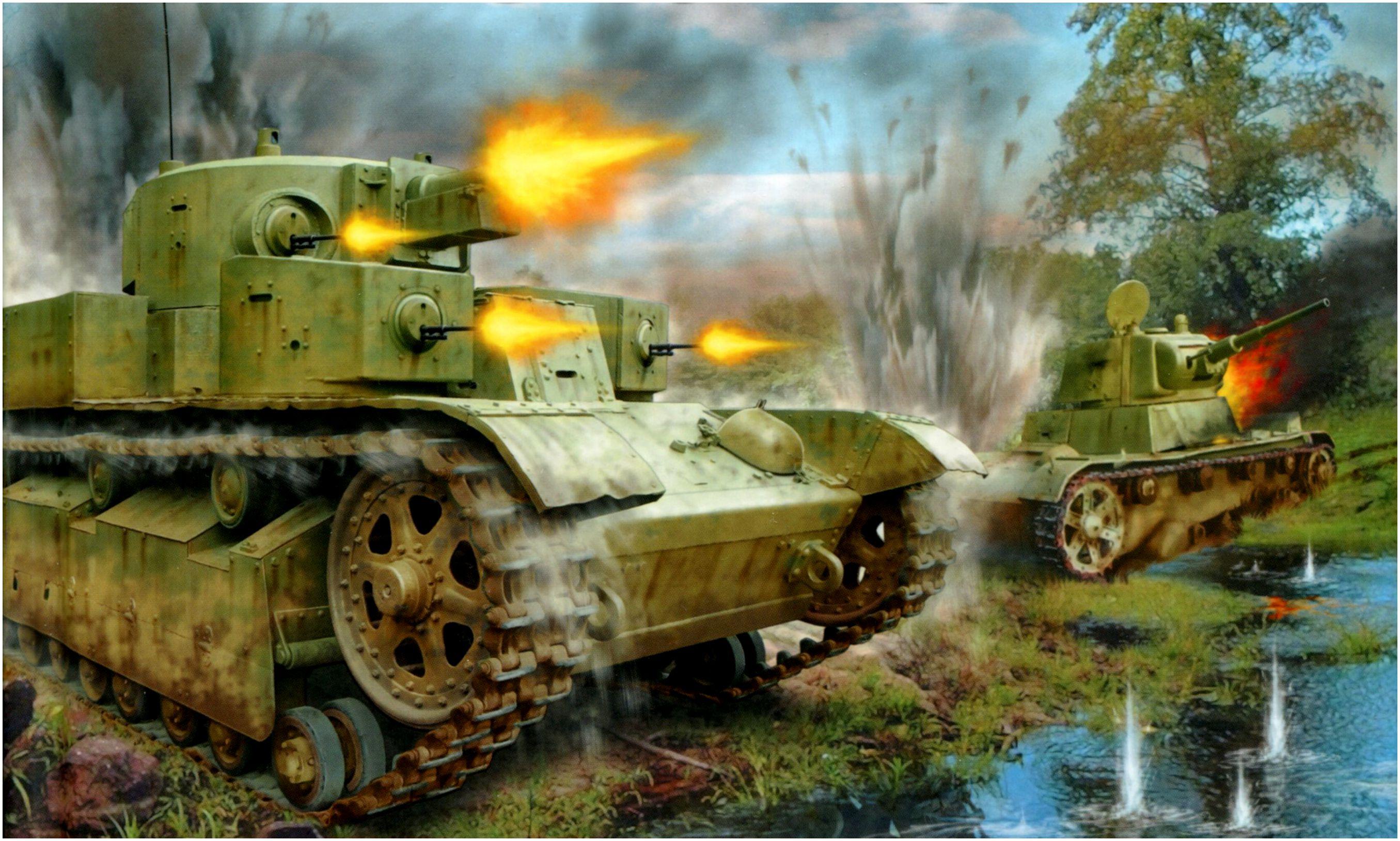 Петелин Валерий. Танк Т-28.