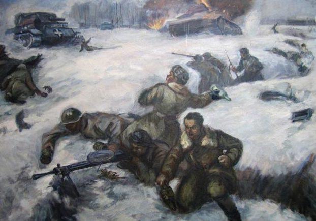Шагаев Николай. Панфиловцы.