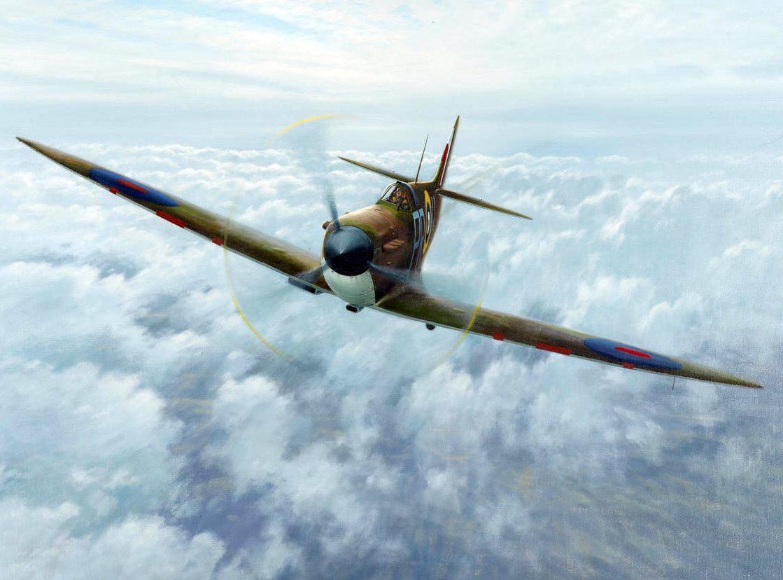 Coulson Gerald. Истребитель Spitfire Mk1.