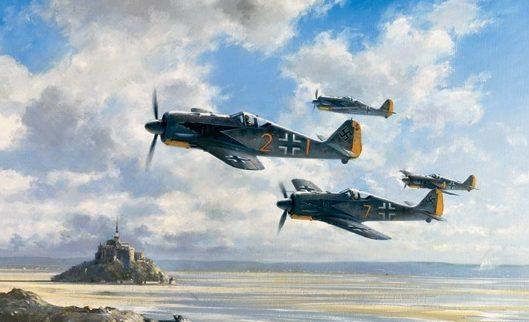 Young John. Истребители FW-190.