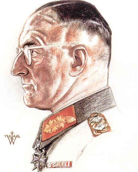 Willrich Wolfgang. Генерал Эрвин фон Витцлебен.