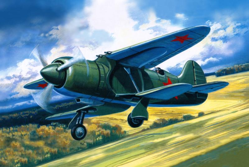 Руденко Валерий. Истребитель ИС-2.