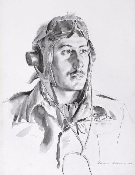 Adams Dennis. Пилот Harry Shipley.