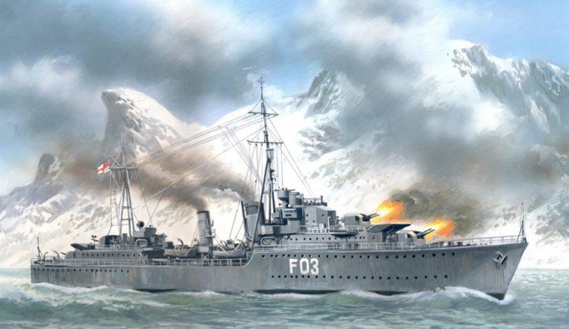 Руденко Валерий. Военные корабли.