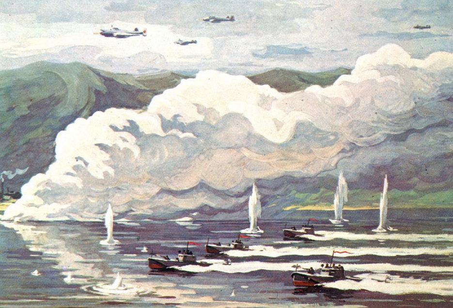 Сотсков Геннадий. Десант на торпедных катерах.