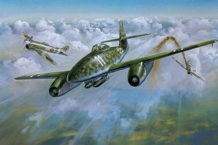 Cross Roy. Истребитель Ме-262.