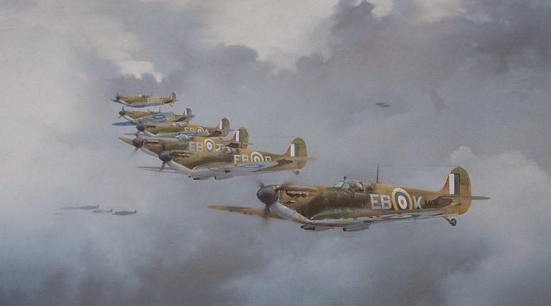 Smith Robin. Истребители «Spitfires».