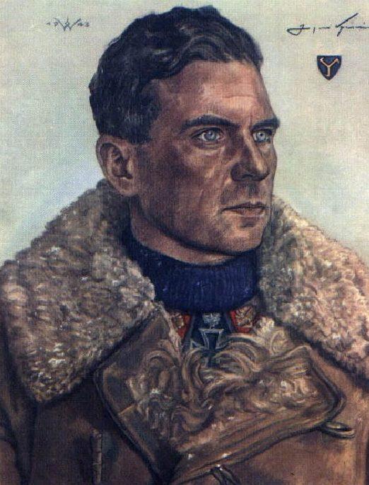 Willrich Wolfgang. Генерал Gerhard Graf von Schwerin.