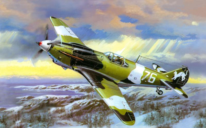 Руденко Валерий. Истребитель ЛаГГ-3.
