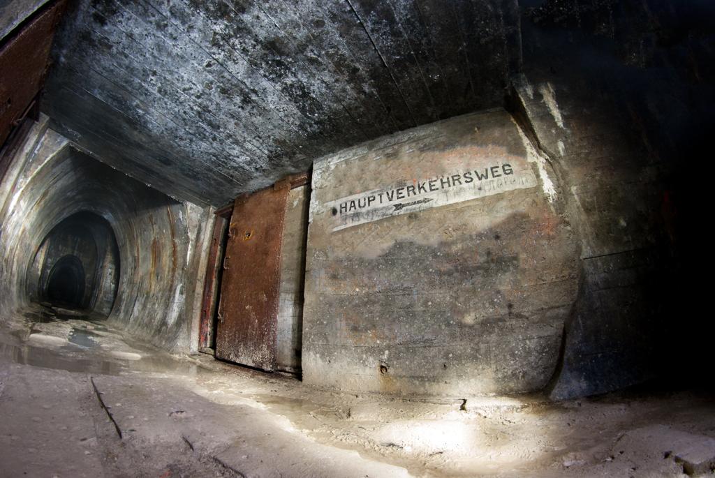 Недостроенный туннель.