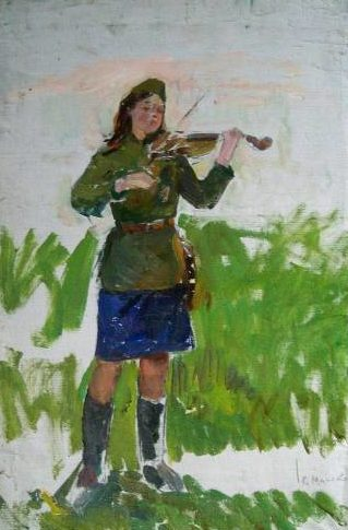 Минский Григорий. Май 1945 года.