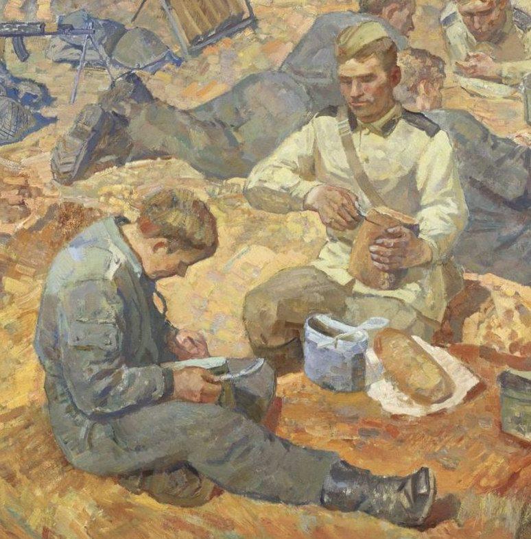 Прокопинский Геннадий. Солдатский хлеб.