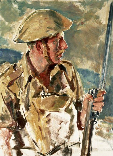 Dargie William. Австралийский пехотинец.