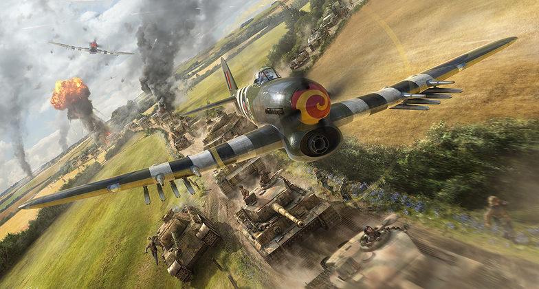 Hector Gareth. Атака на танковую колонну.